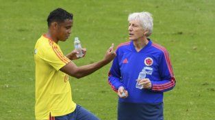 La Colombia de Pekerman debuta ante Japón