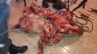 Secuestraron en Buenos Aires una tonelada de carne vacuna robada en Santa Fe