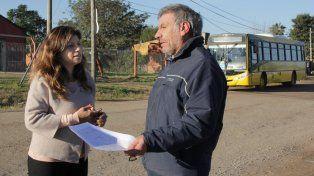La provincia estudia propuestas para mejorar el transporte en el sur de Santo Tomé