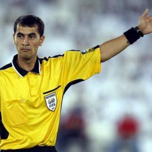 un arbitro uzbeco para controlar argentina y croacia