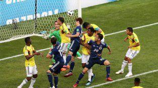 Colombia cayó en el debut y complica su clasificación a octavos