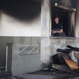 los bomberos debieron apagar ocho incendios en viviendas por mal uso de la calefaccion