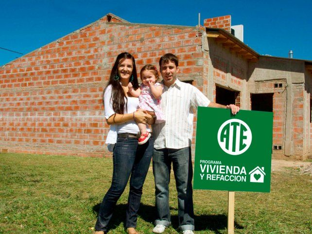 Se realiza el primer sorteo de viviendas y créditos para refacción de ATE