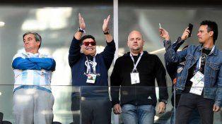 Maradona: Tenemos al mejor del mundo, hay que bancarlo
