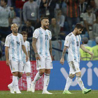 argentina sufrio una paliza y quedo al borde de un papelon historico