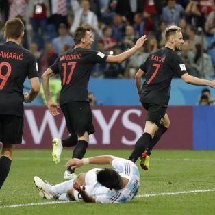 la repercusion mundial de la catastrofica derrota de la argentina