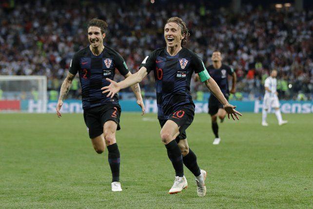 Modric: Le deseo mucha suerte a Argentina
