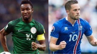 Islandia y Nigeria se enfrentan ante la atenta mirada de Argentina