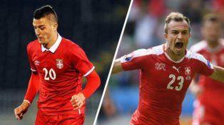 Serbia y Suiza juegan pensando en los octavos