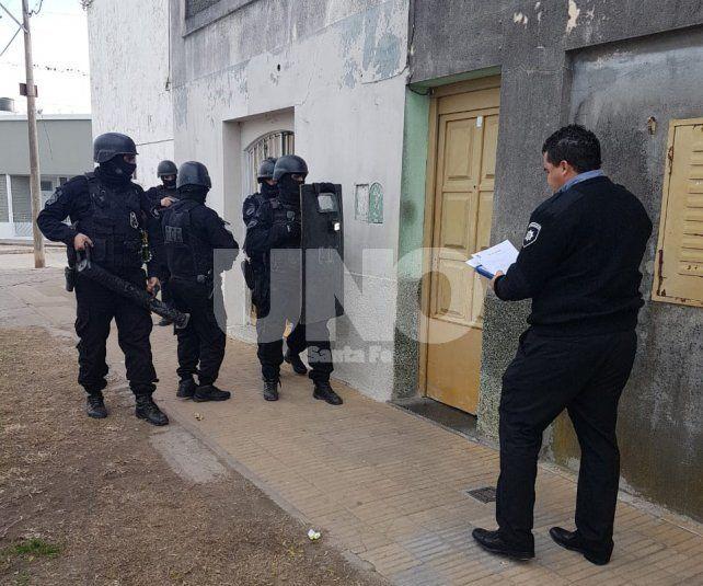 El procedimiento fue realizado en una vivienda de Entre Ríos al 3700