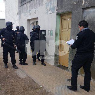 El procedimiento fue realizado en una vivienda de Entre Ríos al 3700, del barrio San Lorenzo.