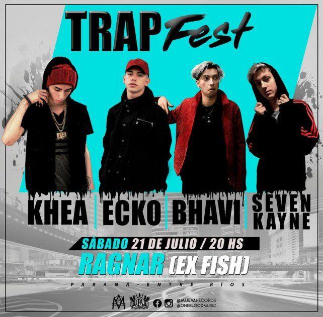 Llega a Paraná el Primer Festival Nacional de Trap