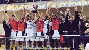 San Lorenzo se convirtió en el segundo tricampeón de la Liga Nacional de Básquetbol