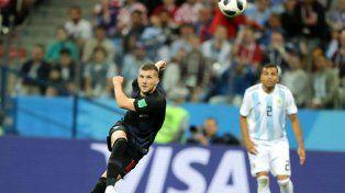 Rebic: Quería la camiseta de Messi, pero los argentinos me causaron mala impresión