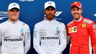 Hamilton hizo la pole en Paul Ricard