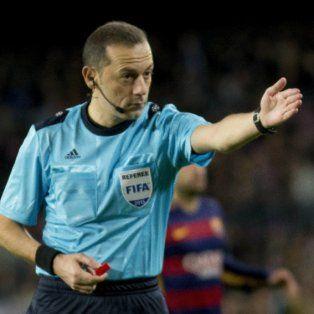 el arbitro del trascendental duelo entre argentina y nigeria