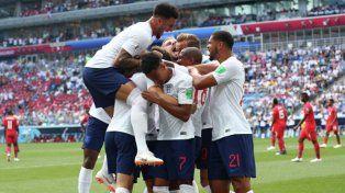 Inglaterra goleó a Panamá con un triplete de Harry Kane