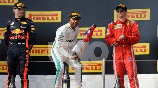 Lewis Hamilton volvió a la victoria en Francia