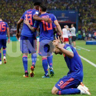 colombia bailo a polonia y ahora jugara una verdadera final ante senegal