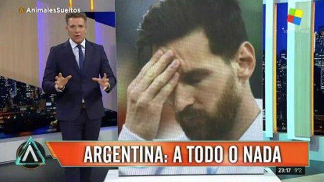 El pálpito de Alejandro Fantino sobre el partido decisivo entre Argentina y Nigeria
