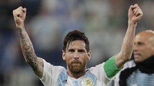 Messi, eufórico: Nada más lindo que ser argentino