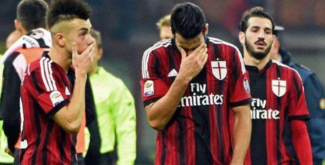 Fuerte sanción a nivel deportivo para el Milan