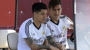 Argentina entrenó pensando en Francia con Enzo Pérez entre algodones
