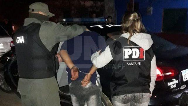Tres violentos tiratiros detenidos en allanamientos en Santa Rosa de Lima