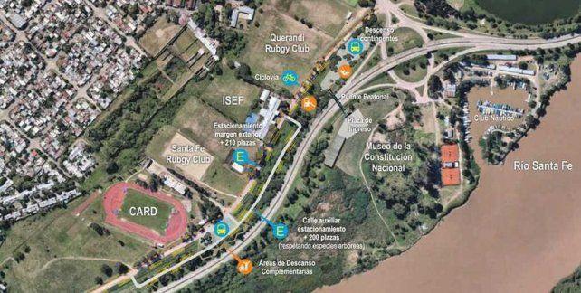 Sancionaron la creación del Paseo Deportivo del Sur