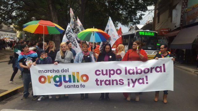 En el día del orgullo, se aprobó el cupo laboral trans en Santa Fe