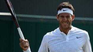 Del Potro tendrá un camino muy complicado en Wimbledon