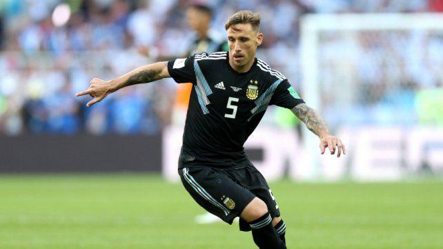 Biglia le dijo adiós al seleccionado argentino
