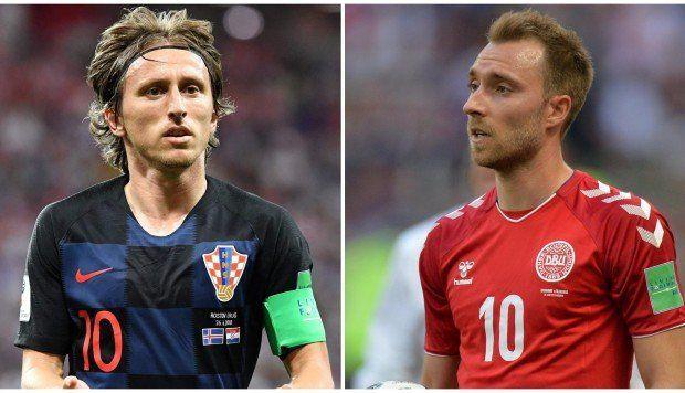 Croacia, verdugo de Argentina, chocará ante la sorprendente Dinamarca