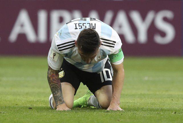¿Por qué Messi no habló tras la eliminación de la Selección?
