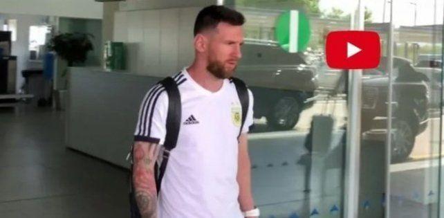 Leo Messi ya regresó a Barcelona