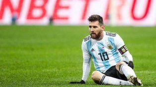 La refundación debe ser con Leo Messi