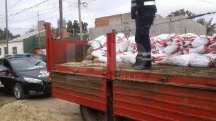 Otra vez secuestraron bolsas de soja que habrían sido sustraídas desde el Belgrano Cargas