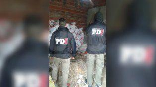 Recuperaron 40 toneladas de soja que habían saqueado de un tren en Santa Rosa de Lima