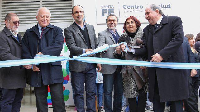 Inaugurado. El centro de salud de Coronel Dorrego demandó una inversión provincial de 11 millones de pesos.