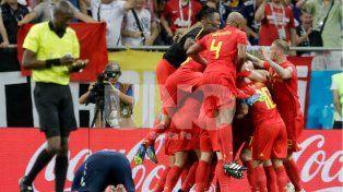 Bélgica se lo dio vuelta en el final a Japón para meterse en los cuartos de final