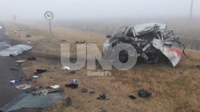 Murió un automovilista de 20 años en un violento choque