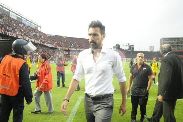 Por primera vez Domínguez hizo público su fastidio