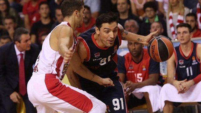 Carlos Delfino volverá a jugar en Italia