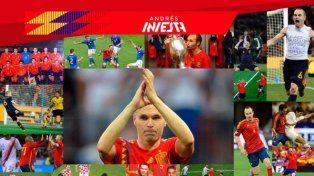 Iniesta se despidió de la selección con una emotiva carta