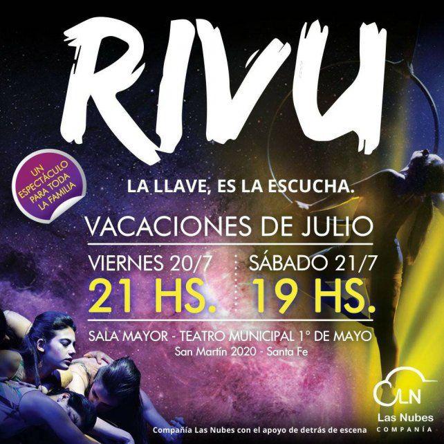 Rivu, una obra para disfrutar en estas vacaciones de invierno