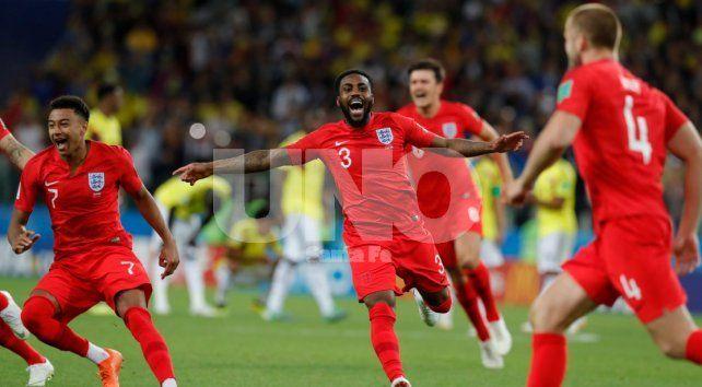 Inglaterra terminó con el sueño de Colombia en los penales