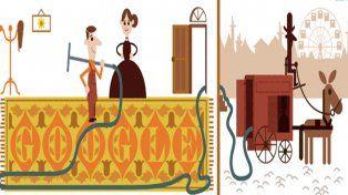 Google celebra con un doodle al creador de la aspiradora
