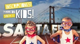 ¡Imperdible! Llega la Maratón Santa Fe Kids