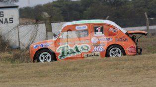 Gonzalo Lazzarotto fue otra vez imparable en los Fiat 600 TZ