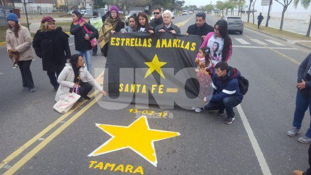 Concientización. La organización Estrellas Amarillas de Santa Fe trabaja en la prevención y seguridad vial.